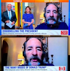 7 News Sunrise with Harry Shearer