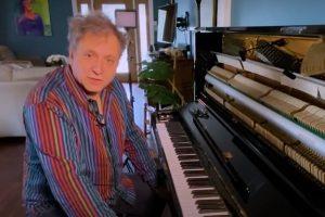 David Torkanowsky in his living room