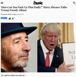 Harry Shearer interview with The Music