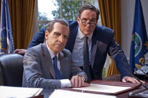 Harry Shearer as Richard Nixon in the Oval Office