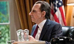 Harry Shearer as Richard Nixon - photo by Justin Downing